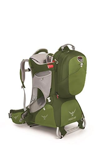 Kindertrage Osprey Poco AG Premium – mit Daypack