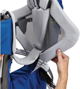 Kindertrage Thule Sapling Elite - Grau, höhenverstellbarer Kindersitz
