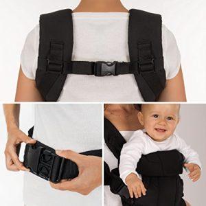 Fillikid - Ergonomische Babytrage / 4in1 - Bauchtrage, Rückentrage